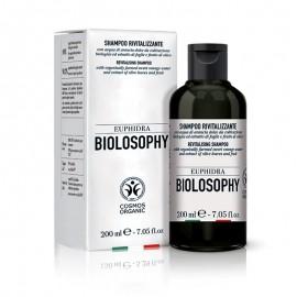 Euphidra Biolosophy Shampoo Rivitalizzante, flacone da 200 ml