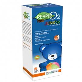 Phyto Salus RespirO2 Tuss Junior, flacone da 150 ml con misurino