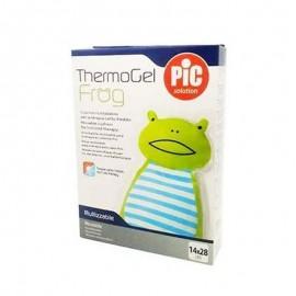 PIC Thermogel Frog Caldo/Freddo per Bambini, 1 pz 14x28 cm