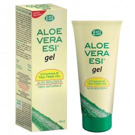ESI Aloe Vera Gel con Vitamina E + Tea Tree Oil, 100 ml
