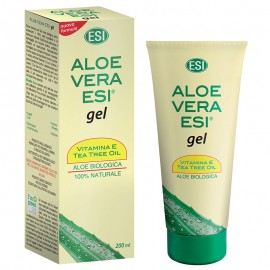 ESI Aloe Vera Gel con Vitamina E + Tea Tree Oil, 200 ml