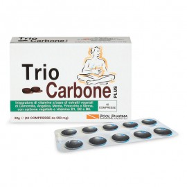 Pool Pharma Trio Carbone Plus, 40 compresse