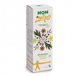 MoM Zero Shampoo Trattamento Pediculosi, 200 ml + Pettine