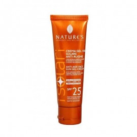 Nature's iSolari Crema-gel viso Solare Antirughe SPF 25, 50 ml