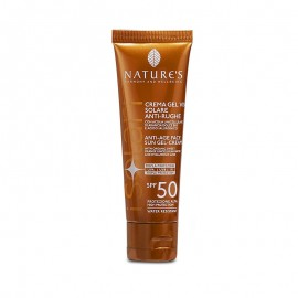 Nature's iSolari Crema-gel viso Solare Antirughe SPF 50, 50 ml