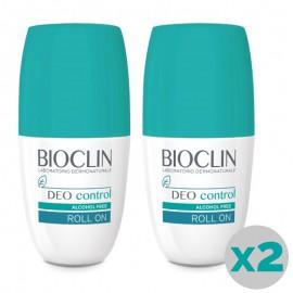 Bioclin Deo Control Roll On con delicata profumazione, bipack da 50 ml