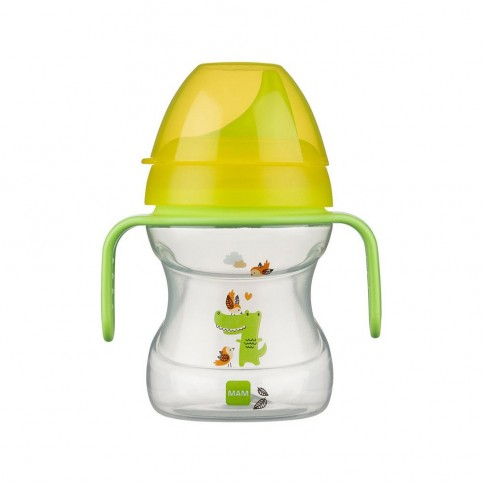 MAM Learn to Drink Cup 6+ verde, 190 ml