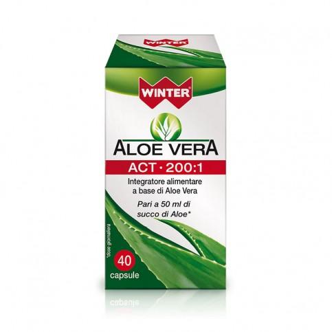 Winter Aloe Vera ACT 200:1, 40 capsule vegetali