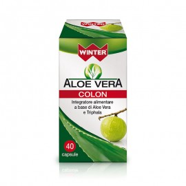 Winter Aloe Vera COLON, 40 capsule vegetali