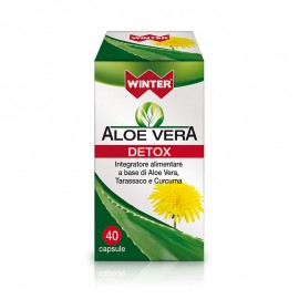 Winter Aloe Vera DETOX, 40 capsule vegetali