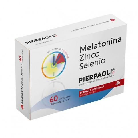 Melatonina Zinco-Selenio Pierpaoli, nuova confezione 60 compresse