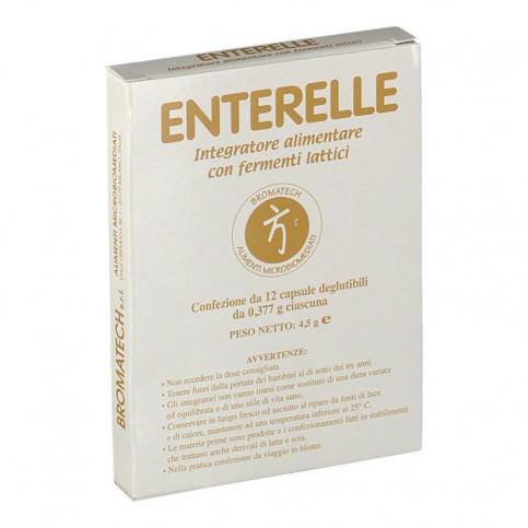 Enterelle Bromatech, confezione da 12 capsule - Fermenti lattici vivi