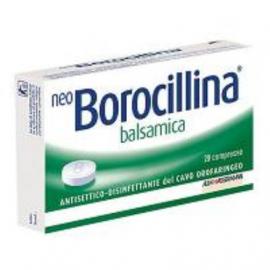 NeoBorocillina Balsamica, 20 Pastiglie da sciogliere in bocca
