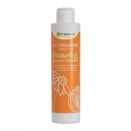 La Saponaria Bio Shampoo Girasole e Arancio Dolce, 200 ml