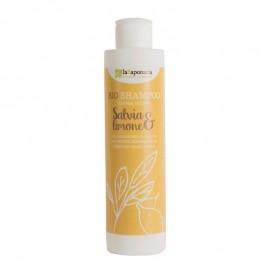 La Saponaria Bio Shampoo Salvia e Limone, 200 ml
