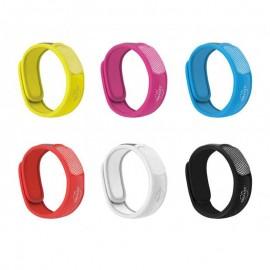 PARA'KITO Braccialetto antizanzare Color Plus, 1 braccialetto e 2 piastrine