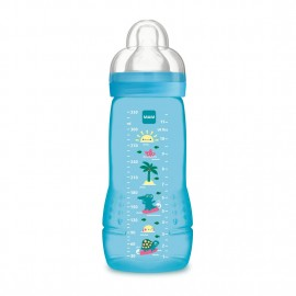 MAM Easy Active, Biberon da 330 ml 4+ mesi - Colori assortiti