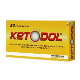 Ketodol, confezione da 20 compresse