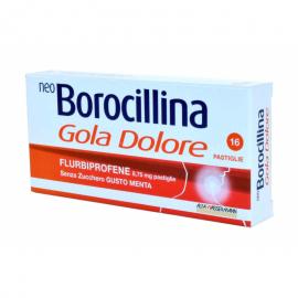 NeoBorocillina Gola Dolore Pastiglie, confezione da 16