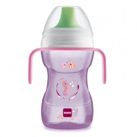 MAM Fun to drink cup 8+ mesi femmina, 270 ml