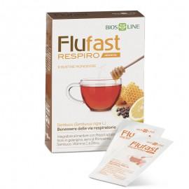 Bios Line Flufast Respiro gusto Arancia, 9 bustine monodose