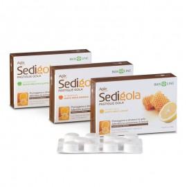 Apix Propoli Sedigola Pastiglie Gola Miele Eucalipto, 20 pastiglie