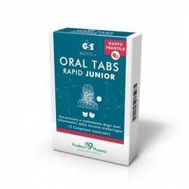 GSE Oral Tabs Rapid Junior - Gusto Fragola, 12 compresse
