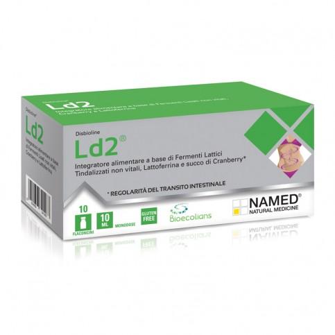 Named Ld2 Integratore Alimentare, 10 flaconcini monodose da 10 ml