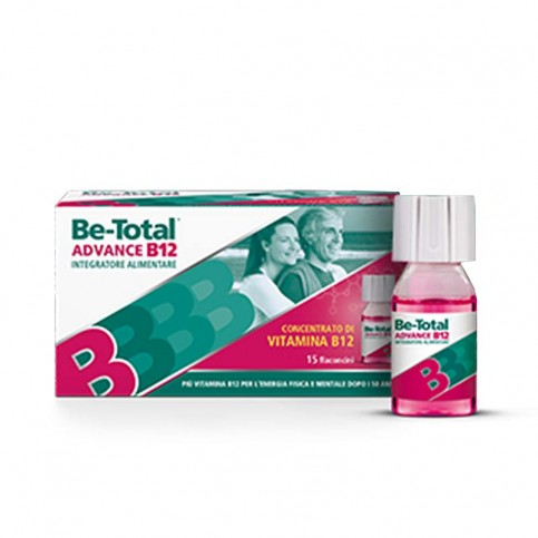 Be-Total Advance B12 gusto lampone, 15 flaconi