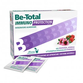 Be-Total Immuno Protection gusto agrumi, 14 bustine effervescenti