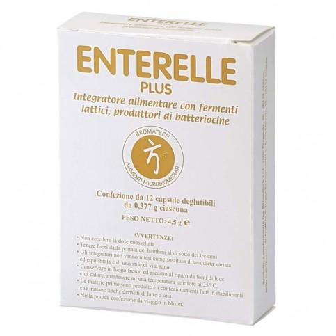 Enterelle Plus, confezione da 12 capsule degluttibili