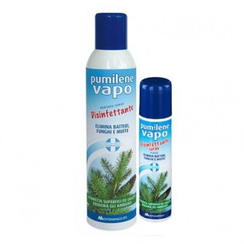 Pumilene Vapo Disinfettante Multiuso Spray, 250 ml + 75 ml