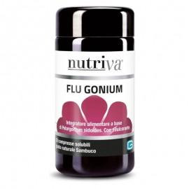Nutriva Flu Gonium, 30 compresse solubili