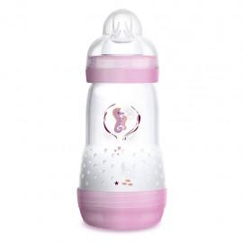 MAM Easy Start, Biberon da 260 ml 2+ mesi - Rosa Femmina, 1 pezzo