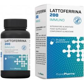 PromoPharma Lattoferrina 200 Immuno, Capsule da 10.5 ml
