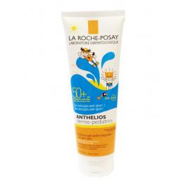 Anthelios Dermo-Pediatrics Wet Skin Pozione Gel Pelle Bagnata SPf 50+, 250 ml