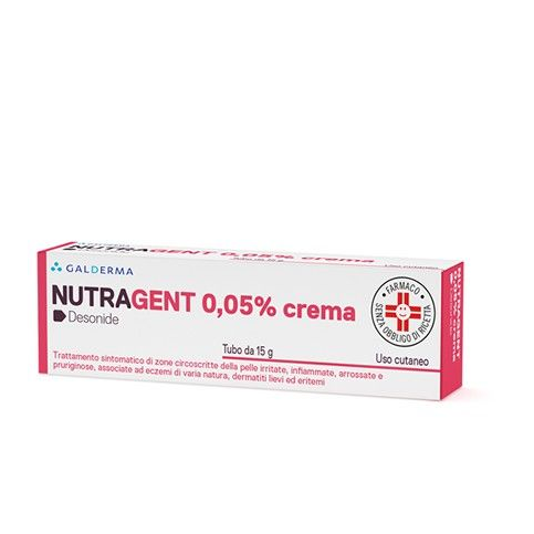 Nutragent Crema, tubo da 15gr