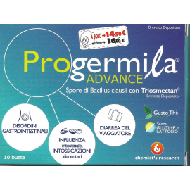 Progermila Advance, 10 buste