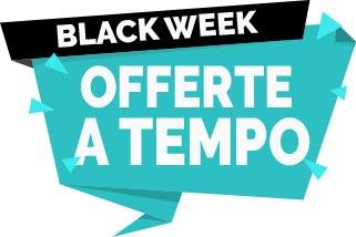 Black Week - Offerte a tempo - Prodotti scontatissimi