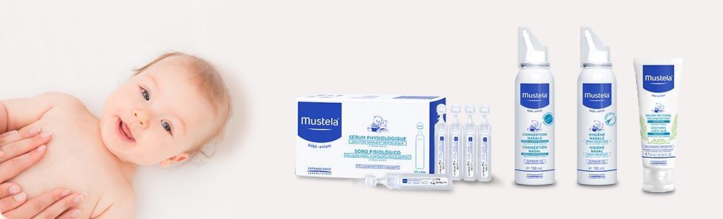 mustela prodotti per la pulizia del naso dei bambini che prevengono il raffreddore