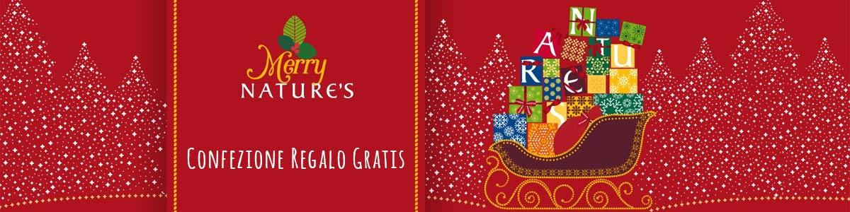 Regali di Natale Nature's - Confezione e Cofanetti regalo gratis