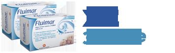Promo 2 confezioni Fluimar Acqua di Mare Isotonica da 18 Fiale 5 ml