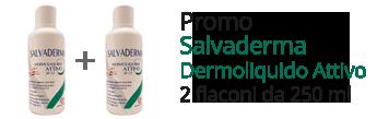 Promo 2 confezioni Salvaderma Dermoliquido Attivo