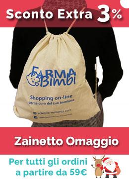 Sconto Extra 3% + Zainetto Omaggio