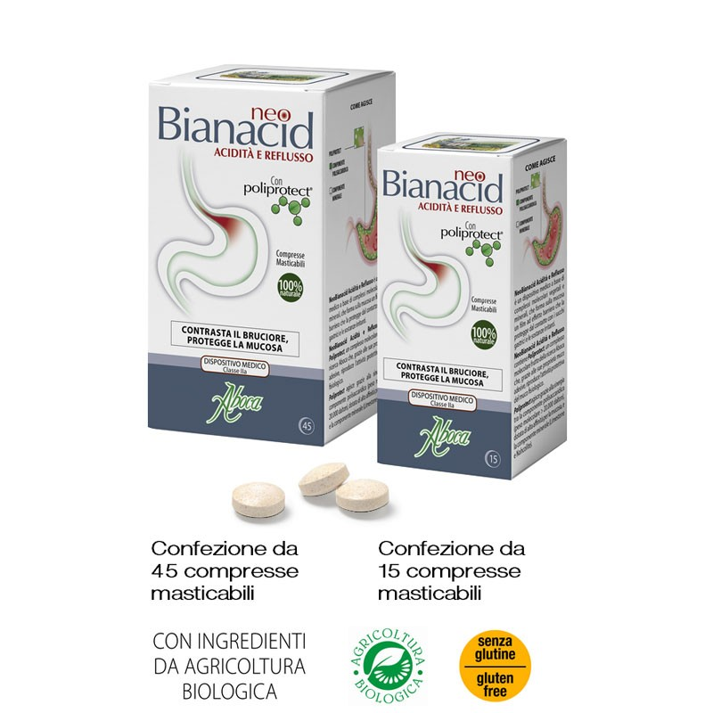 Aboca NeoBianacid, 45 compresse orosolubili