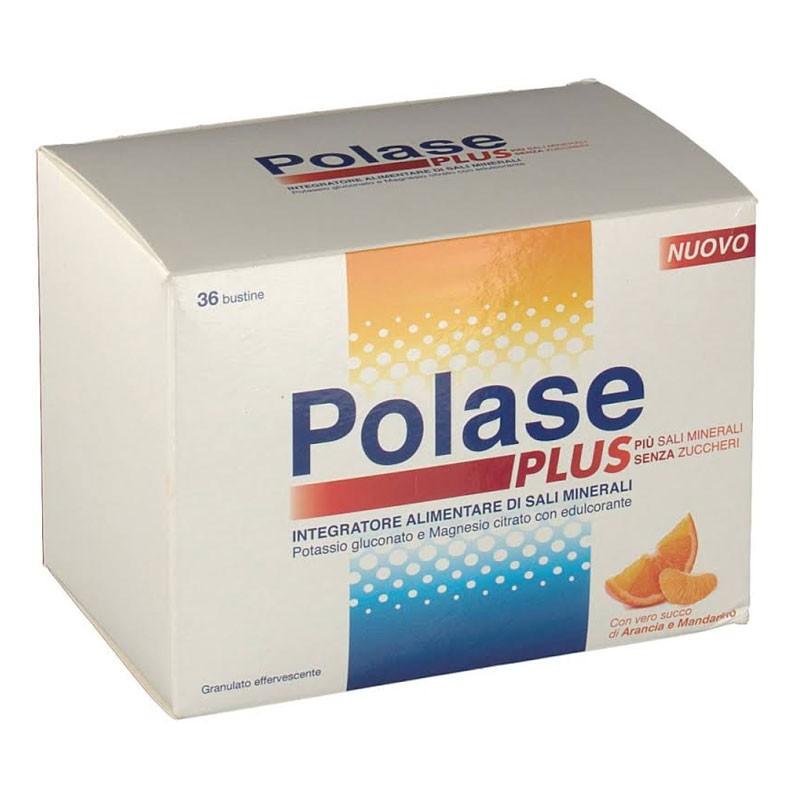 Polase Arancia 12 bustine effervescenti - Integratore Magnesio Potassio