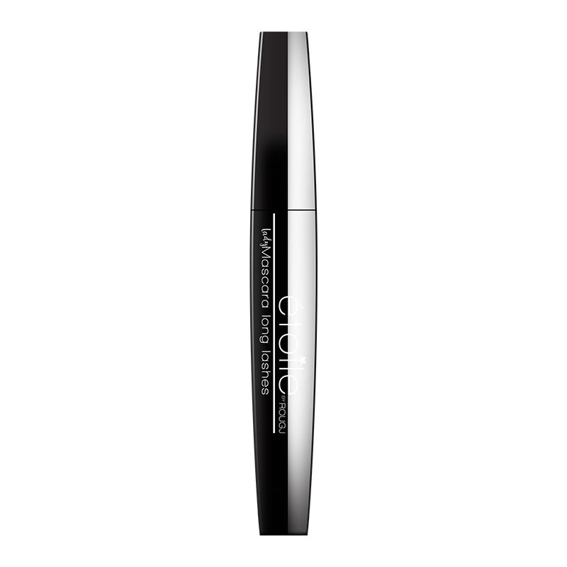 Rougj Lady Mascara Nero - Black Long Lashes Mascara Allungante, 10 ml