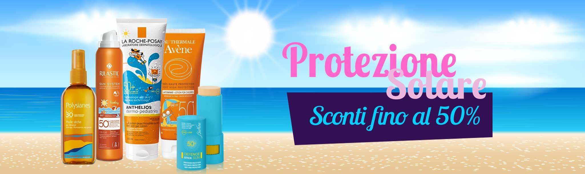 protezione solare bambini in promozione - sconti fino al 50%