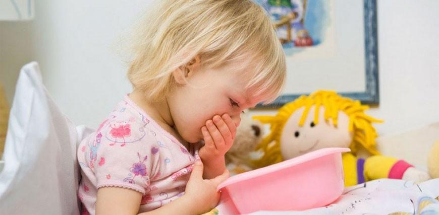 infezione intestinale nella dieta dei bambini